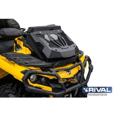 Вынос радиатора с комплектом шноркелей Rival для квадроцикла Can Am Outlander G2 1000 850 800 650 500 (2012+) 444.7240.1