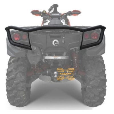 Кенгурятник задний Rival для квадроцикла Can-Am Outlander G2 500/650/800/850/1000 (2012+) 444.7243.1