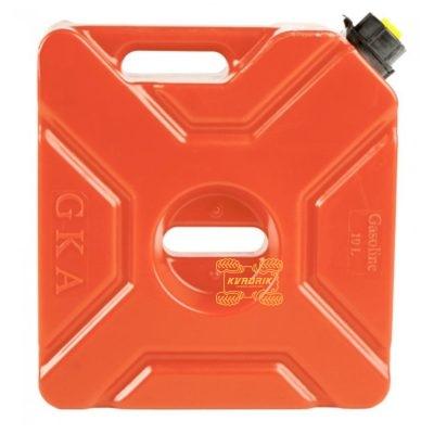 Канистра GKA экспедиционная 10л, цвет красный для квадроцикла или внедорожника