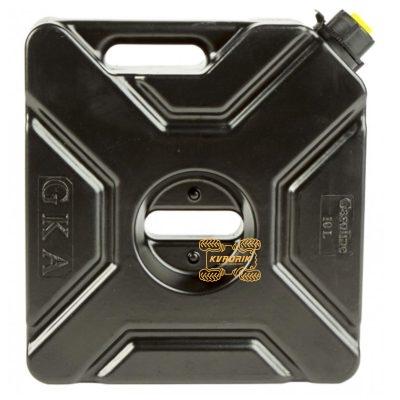 Канистра GKA экспедиционная 10л, цвет черный для квадроцикла или внедорожника