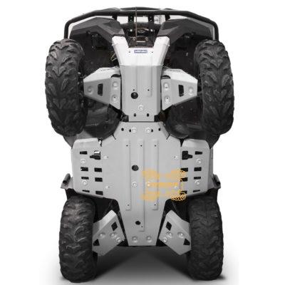 Защита днища Rival для квадроцикла Yamaha Grizzly/Kodiak 700 (2016+) 444.7124.1