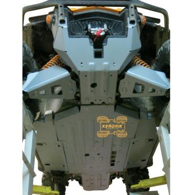 Защита днища Rival для багги Can Am Commander 1000 XT-P (2015+) 444.7219.1
