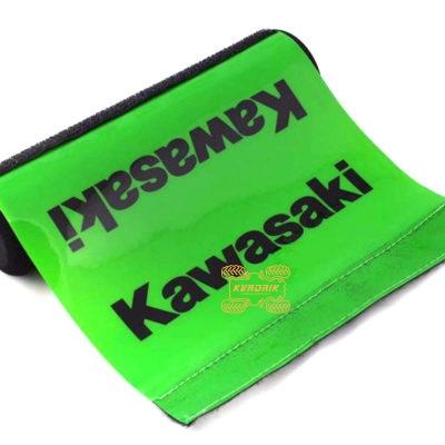 Мягкая накладка распорки руля зеленая X-ATV для квадроциклов и мотоциклов Kawasaki  HC-KW-02