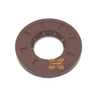 Оригинальный сальник крышки вариатора для квадроцикла CFMoto X5 500 (17x35x5) 0180-013207, CF188-013207