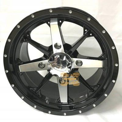 Диск на квадроцикл Cyclone AR810 14x7  4+3  4/110 Yamaha, Suzuki, Kawasaki, CFMoto