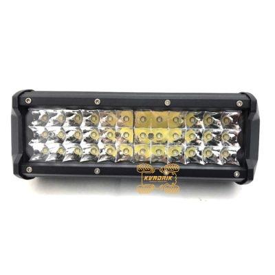 Прожектор, фара для квадроциклов, багги, джипов, внедорожников — LED-WM-39054  54W 21см дальний + ближний свет