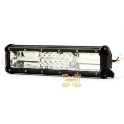 Прожектор, фара для квадроциклов, багги, джипов, внедорожников — LED-WM-39081 81W 30см дальний + ближний свет