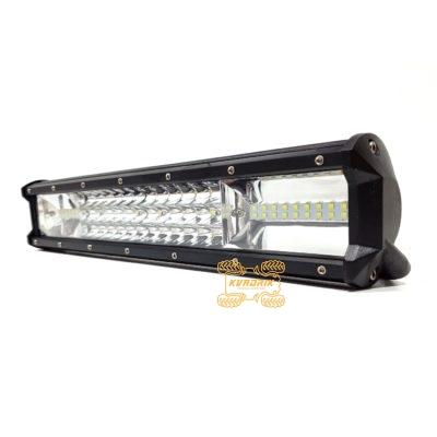 Фара, прожектор, светодиодная балка для квадроциклов, багги, джипов, внедорожников — LED-WM-39108 108W 39см дальний + ближний свет