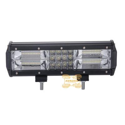 Фара, прожектор, светодиодная балка для квадроциклов, багги, джипов, внедорожников — LED-C4-180  180W 30см дальний + ближний свет