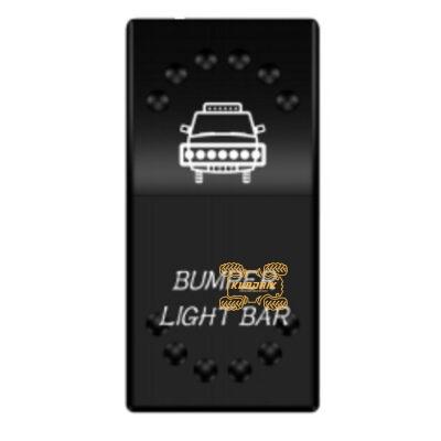 """Переключатель X-ATV """"Bumper Light Bar"""" для фар под врезку в панель приборов UTV или внедорожников SW-JJ3"""
