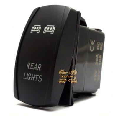 """Переключатель X-ATV """"Rear Lights"""" для фар под врезку в панель приборов UTV или внедорожников SW002"""