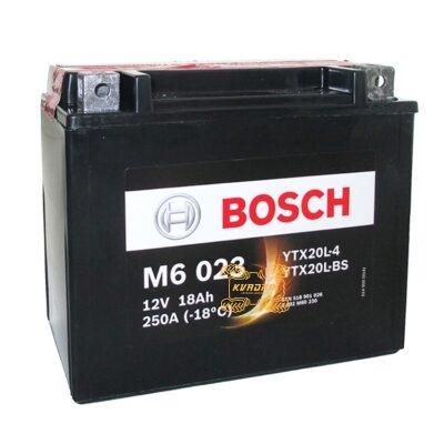 Аккумулятор BOSH 175X87X155 0092M60230, 1176053, YTX20L-BS