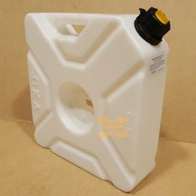 Канистра GKA экспедиционная 10л, цвет белый для квадроцикла или внедорожника   GKA-CAN-10L-WHT