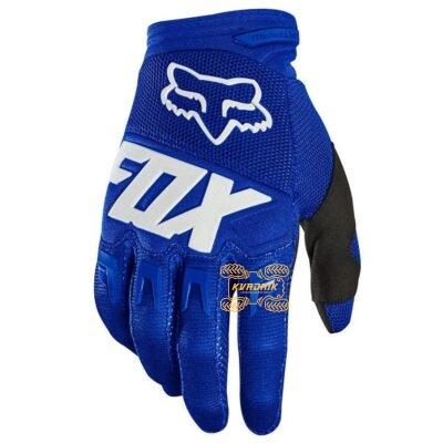 Перчатки FOX DIRTPAW GLOVE - RACE синие