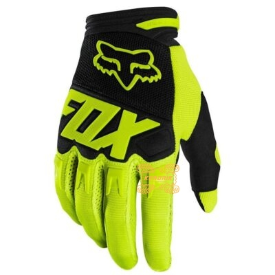 Перчатки FOX DIRTPAW GLOVE - RACE желтые