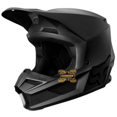 Шлем FOX V1 MATTE HELMET [BLACK] размер S 21828-255-S