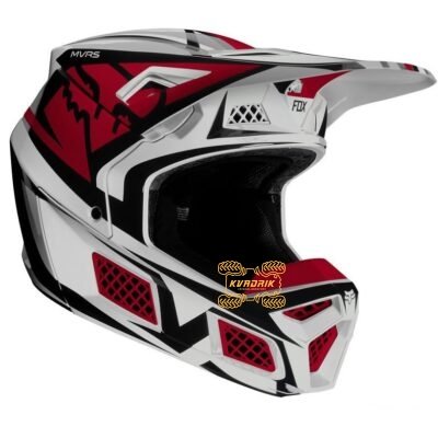 Шлем FOX V3 IDOL HELMET [LIGHT GREY] размер L 24562-097-L