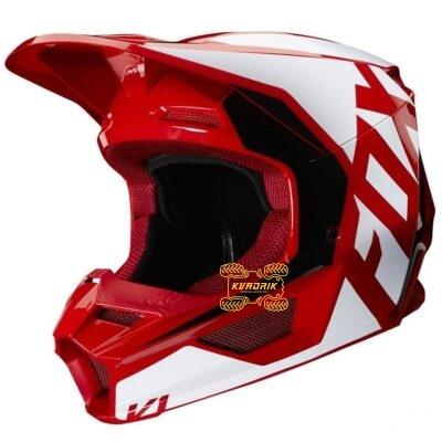 Шлем FOX V1 PRIX HELMET [FLAME RED]