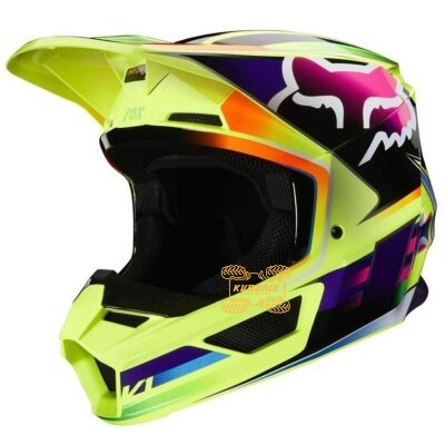 Шлем FOX V1 GAMA HELMET [YELLOW]