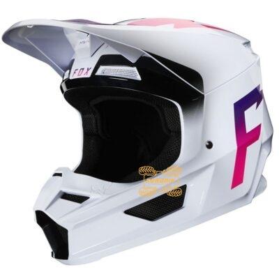 Шлем FOX V1 WERD HELMET [WHITE]