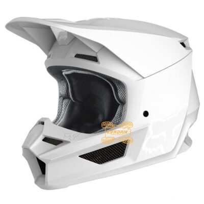Шлем FOX V1 MATTE HELMET [WHITE]