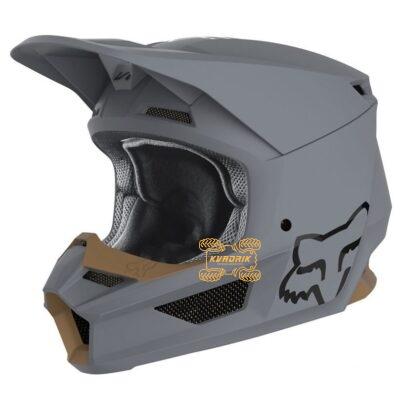 Шлем FOX V1 MATTE HELMET [STONE]