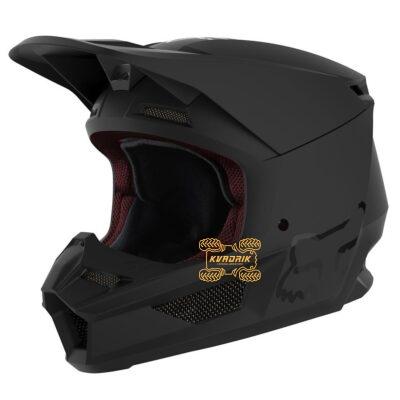 Шлем FOX V1 MATTE HELMET [MATTE BLACK] размер S   25475-255-S