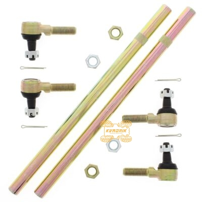 Рулевые тяги с наконечниками All Balls для квадроциклов Yamaha Grizzly 550/700, Kawasaki KFX450R, Suzuki LTZ 400 52-1007