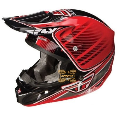 Шлем FLY F2 Trey Canard Replica [RED] размер S   73-4032S