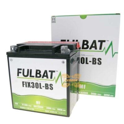 Аккумулятор гелевый Fulbat FIX30L-BS 12V 30Ah 165X125X175 для квадроциклов Polaris RZR, General; CFMoto X8