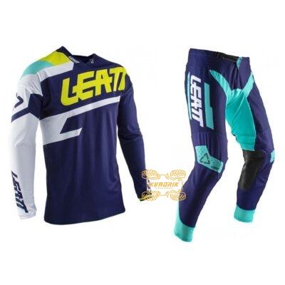 Комплект экипировки джерси+штаны LEATT GPX 4.5 Lite [Blue] размер M 5020001231, 5020001392