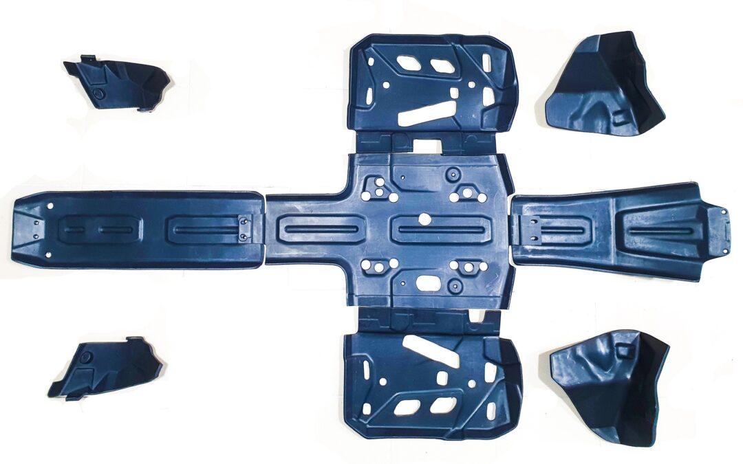Новинка! Пластиковая защита днища Panzerbox для квадроциклов Outlander G2 MAX / Xmr 1000/850/650 (2019+)