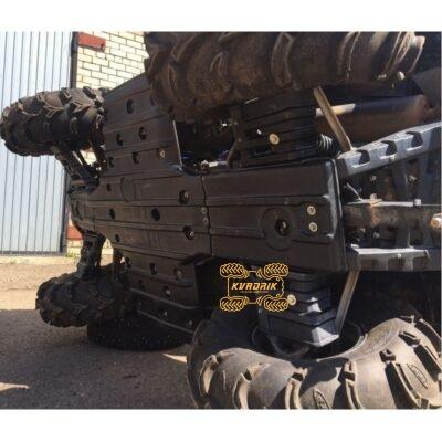 Пластиковая защита днища Panzerbox для квадроцикла CFMoto X8 (2012-2017)