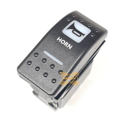 """Кнопка сигнала под врезку в панель приборов UTV или внедорожников """"Horn"""""""