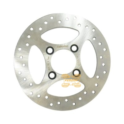 Тормозной диск X-ATV задний для квадроцикла Yamaha Raptor 700, YFZ 450 260.0340, 1S3-2582W-10-00, 1PE-F582W-00-00, 1S3-25712-00-00