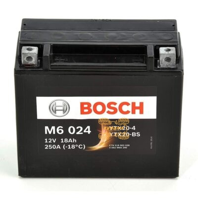 Аккумулятор BOSCH 177X88X156 0092M60240, 518902026, YTX20-BS