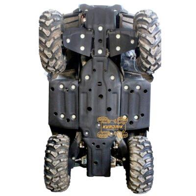 Пластиковая защита днища Panzerbox для квадроцикла CFMoto X8 H.O, X10 (2018+)