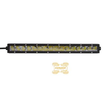 LED прожектор, фара для квадроцикла, багги, джипа, внедорожника - SHARK LED CREE 16*5W 4200 lm 43см ближний + дальний свет