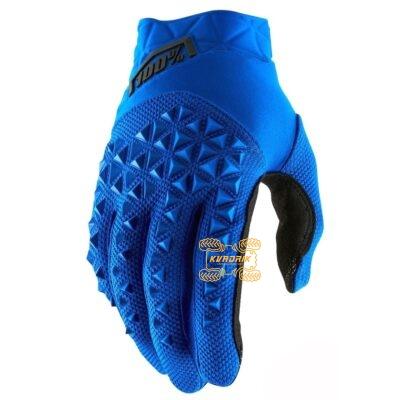 Перчатки Ride 100% AIRMATIC Glove [Blue/Black] размер XL  10012-215-13