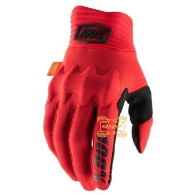 Перчатки Ride 100% COGNITO Glove [Red] размер XL 10013-013-13