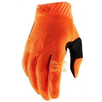 Перчатки Ride 100% RIDEFIT Glove [Fluo Orange/Black] размер L 10014-260-12