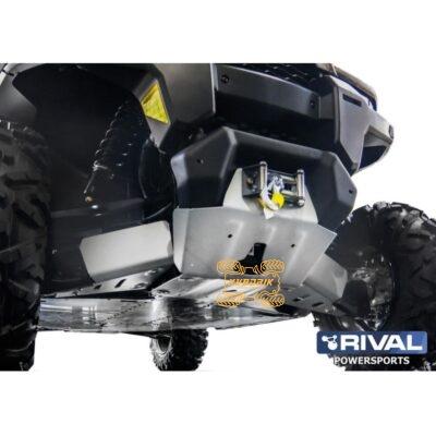 Защита днища (без центральной части) Rival для UTV Can Am Defender (2016+) 444.7234.1