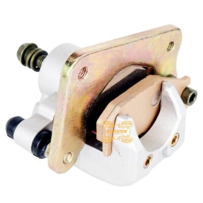 Тормозной супорт задний X-ATV для квадроцикла Yamaha Kodiak 400 450 (02-04), Wolverine 450 (06-07) CAL-CR130, 5GH-2580V-10-00