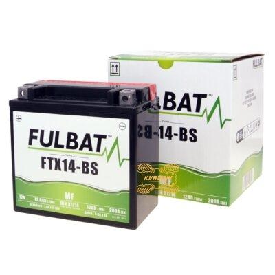 Аккумулятор Fulbat FIX14-BS 12V 12Ah 150X87X145 для квадроциклов