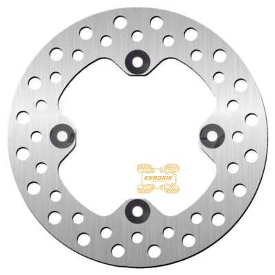 Тормозной диск задний NG Brakes для квадроцикла YAMAHA GRIZZLY 700 (07+) 550 (09+) NG1731 1HP-F582V-00-00, 3B4-2582V-01-00