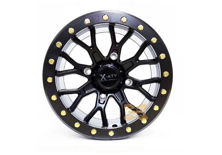 Эффектные 16-ти спицевые диски с бидлоком X-ATV AR104 серии Racing уже в наличии!