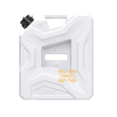 Канистра Tesseract экспедиционная 10л, цвет белый для квадроцикла или внедорожника