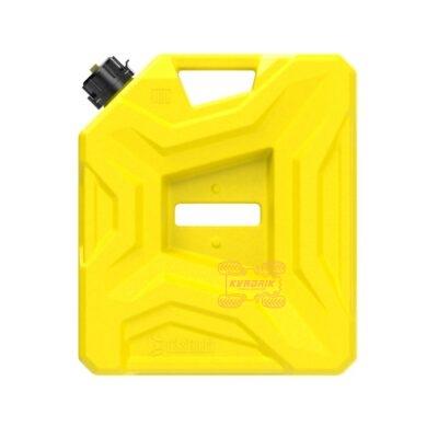Канистра Tesseract экспедиционная 10л, цвет желтый для квадроцикла или внедорожника
