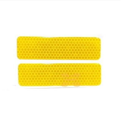 Светоотражатель для кофра оранжевый универсальный (2шт) GKA-ODBL-OR