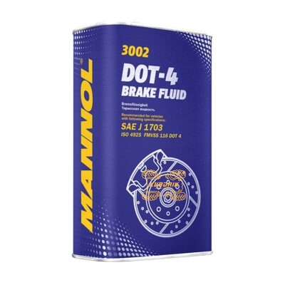 Тормозная жидкость MANNOL Brake Fluid DOT-4 3002